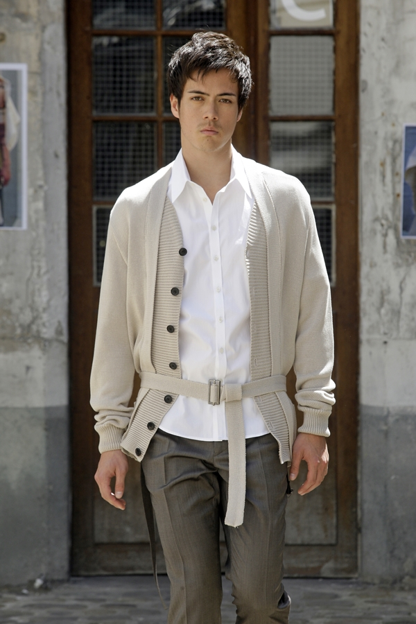 PHOTO © PETER STIGTER  MENSWEAR SPRING/SUMMER 2010  FILENAME IS DESIGNER NAME